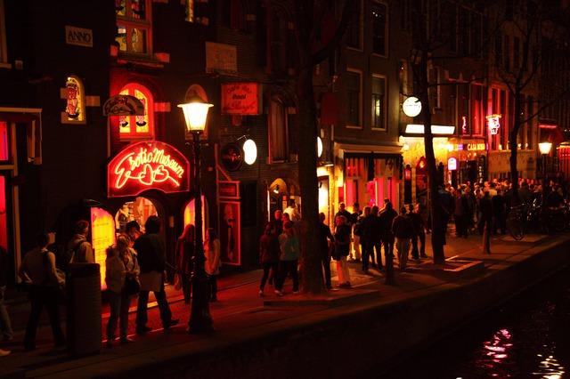 addio al celibato ad Amsterdam