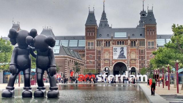 edificio di Amsterdam