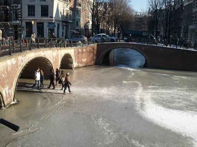 inverno di Amsterdam