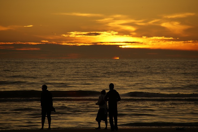 tramonto di Zandvoort